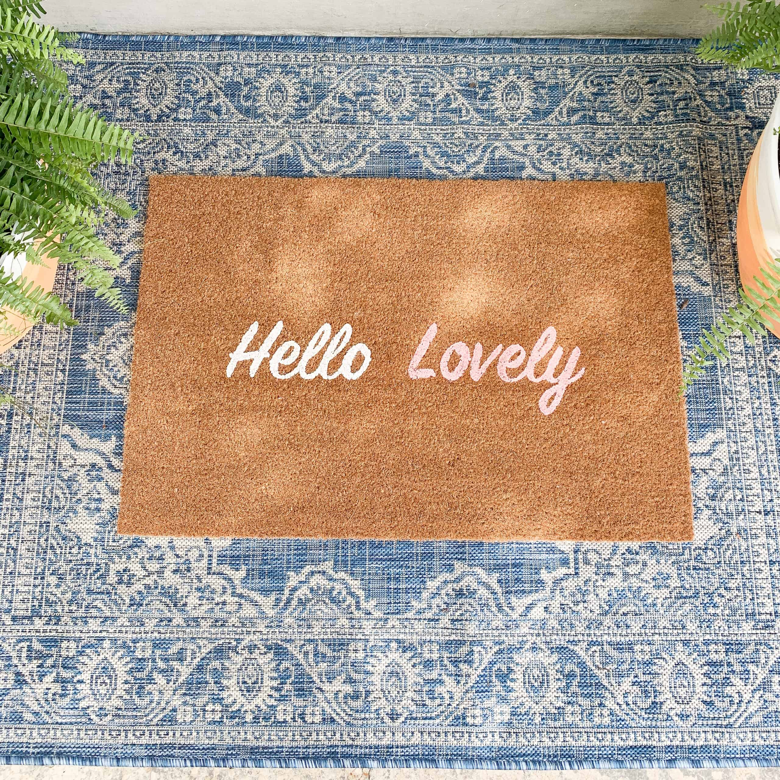 Hello Lovely Doormat