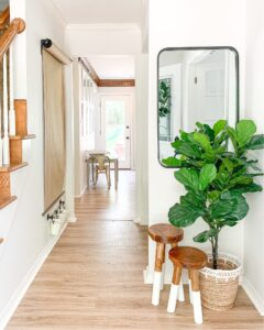modern small entry way