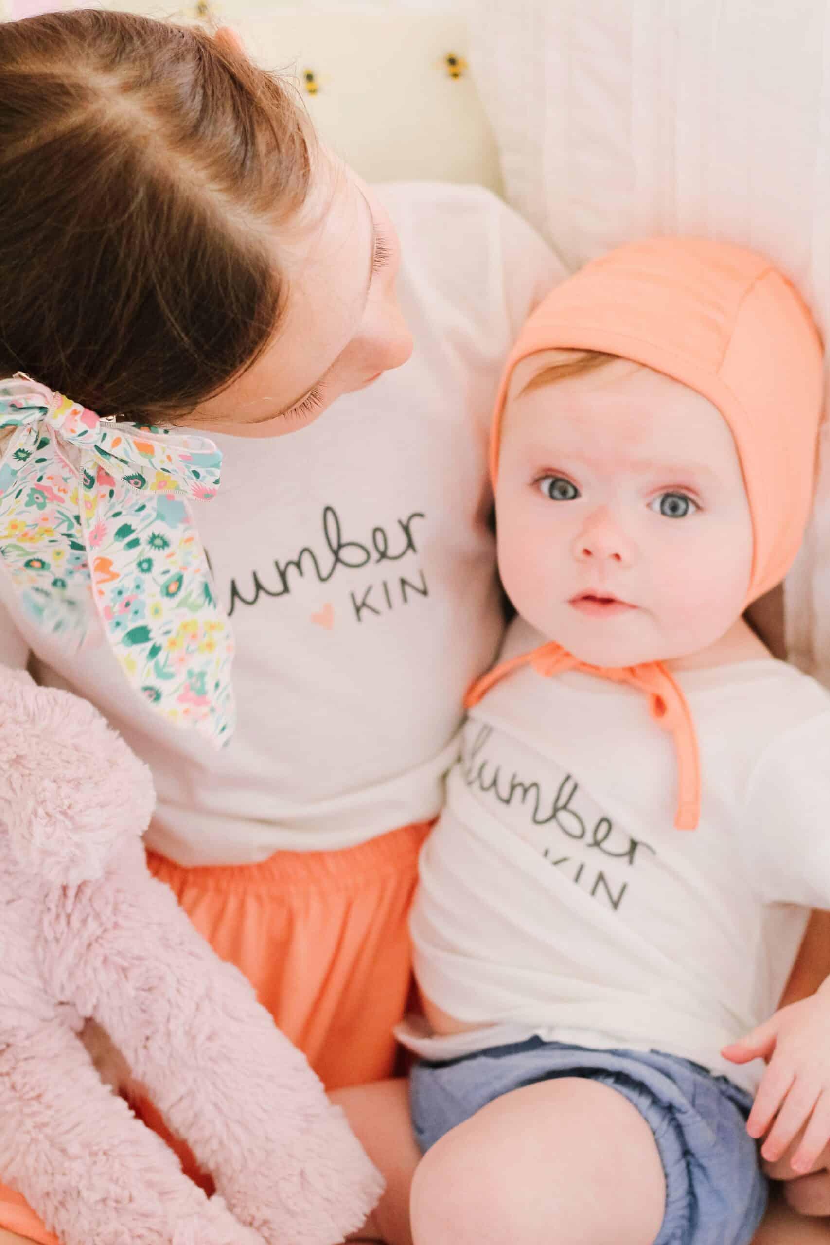 sisters in Slumberins shirts