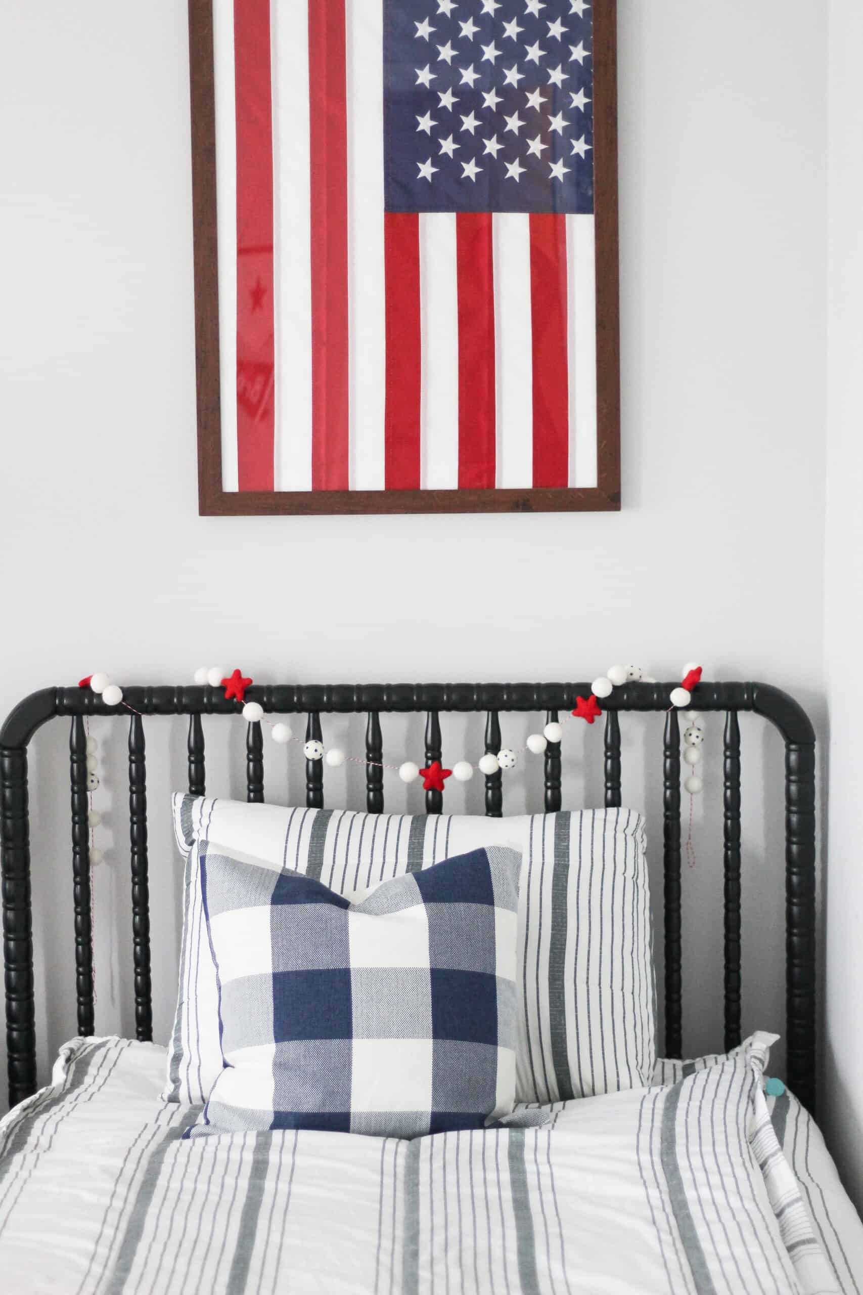 Boys Patriotic Bedroom