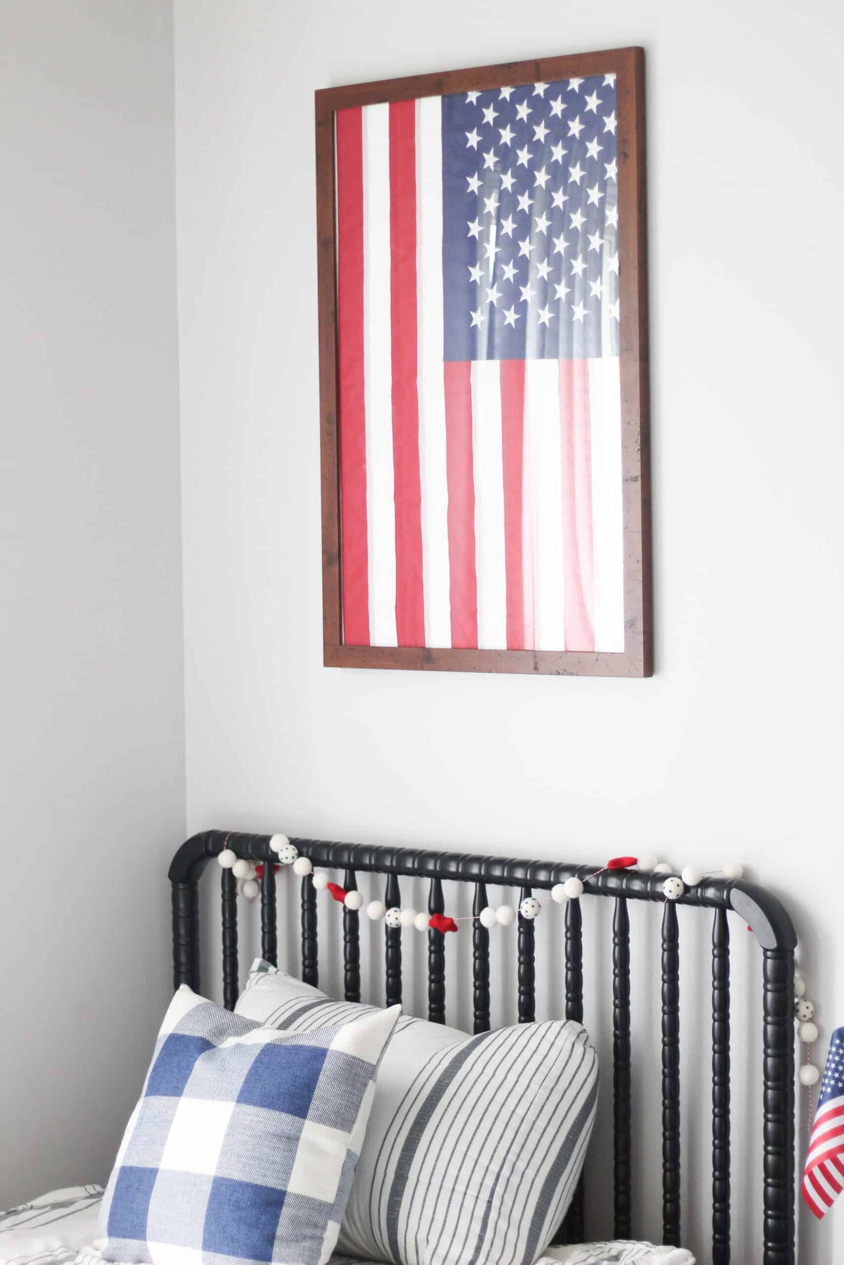 Patriotic boys room