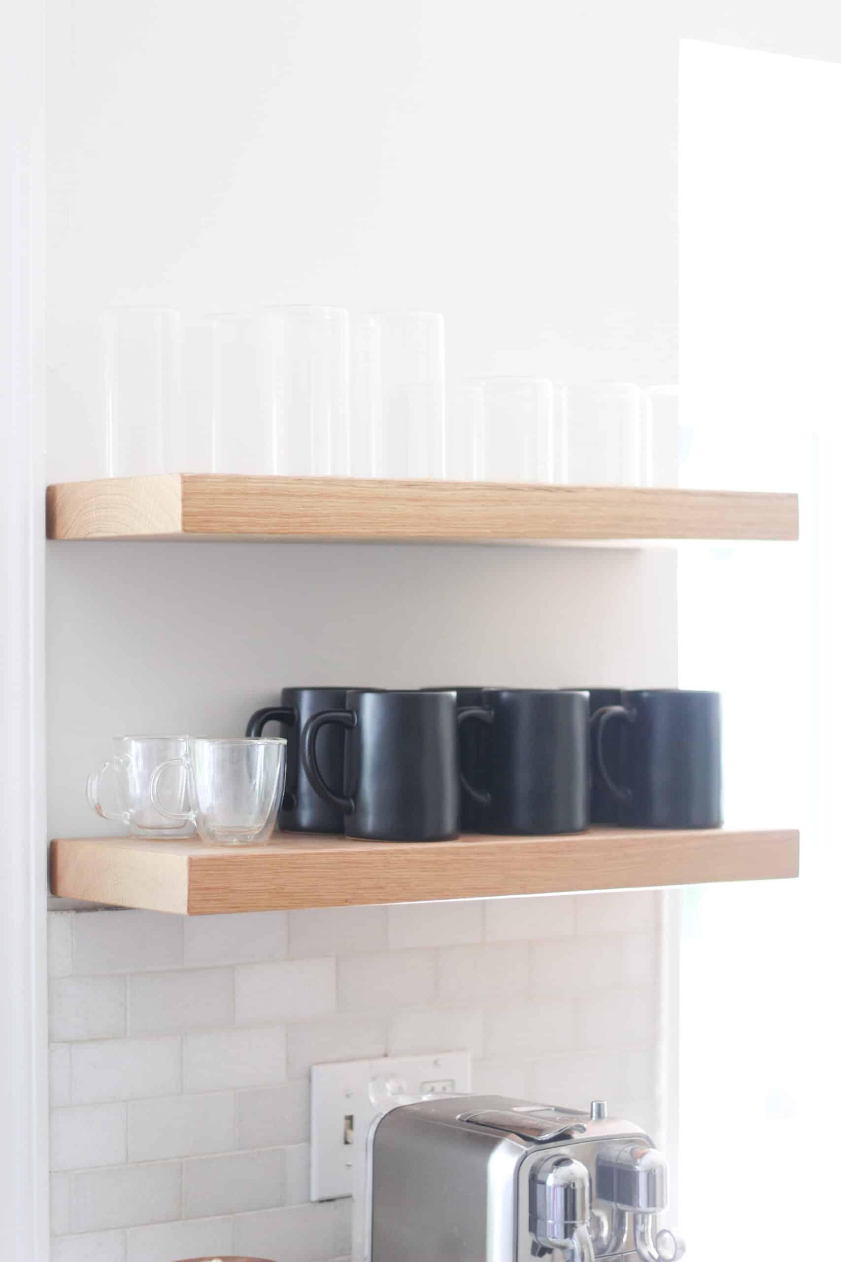 floating kitchen shelves and floating shelf brackets