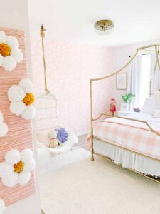 Girls room with Serena and lily chair