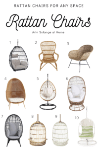 rattan chairs for every space