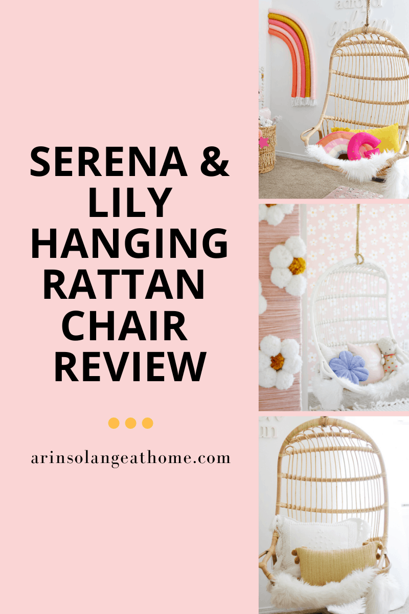 serena and lily hanging chair