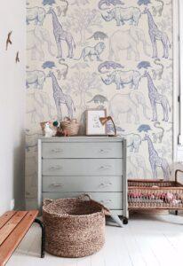 blue animal wallpaper