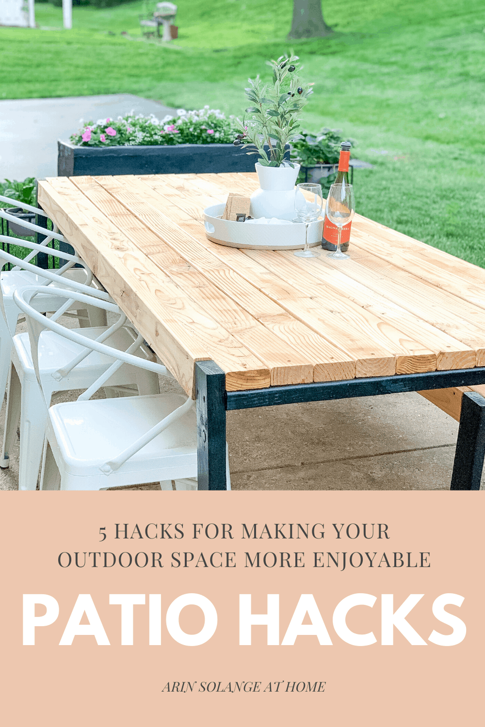 Patio hacks to elevate your outdoor space