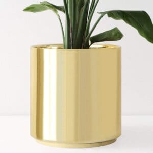 decorative vase gold