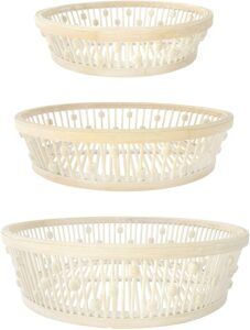 set of three baskets from Amazon