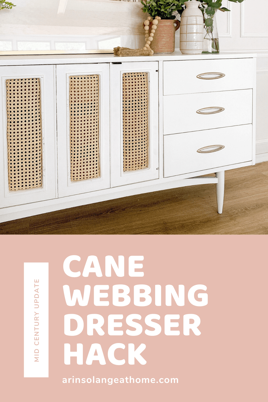 cane webbing dresser hack