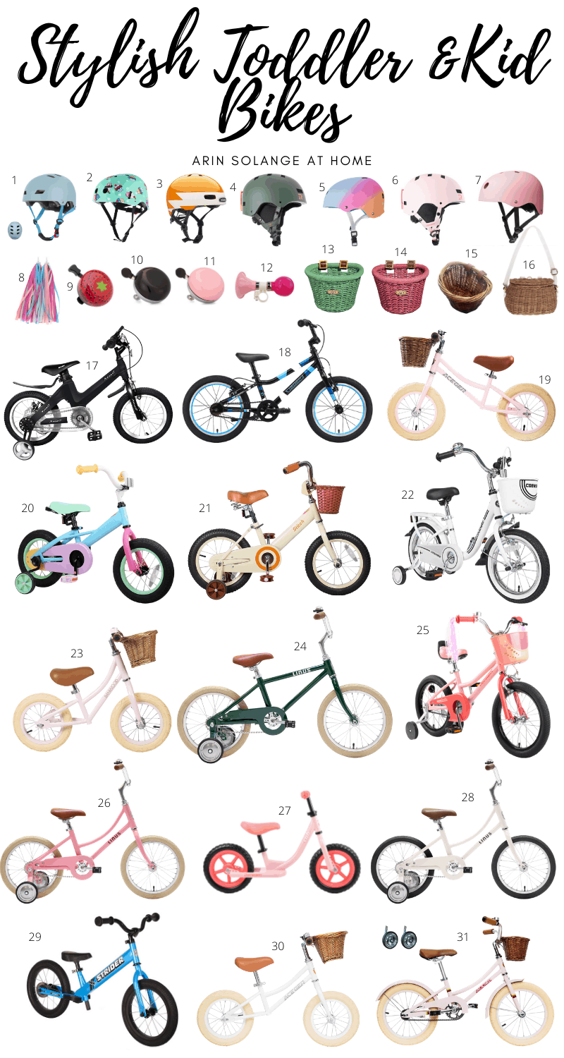 stylish toddler bikes and Kids bikes