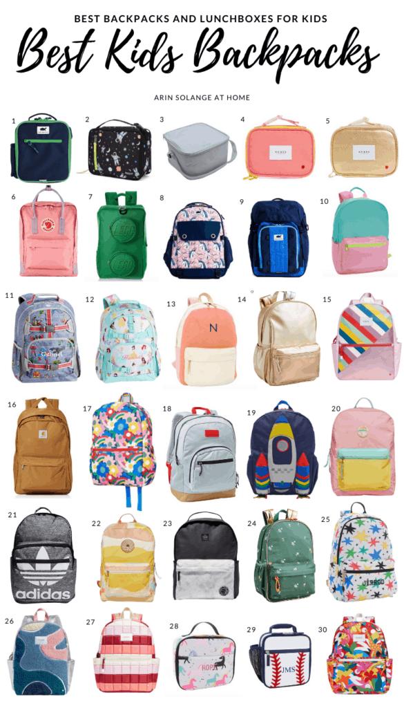 The best stylish kids backpacks