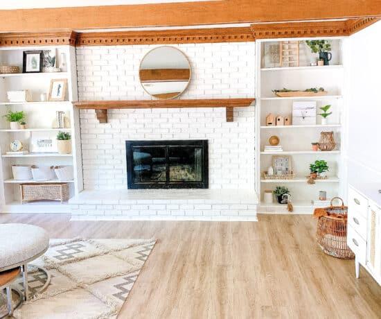 pergo flooring in living room