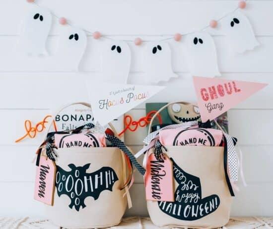 Halloween Spooky Basket