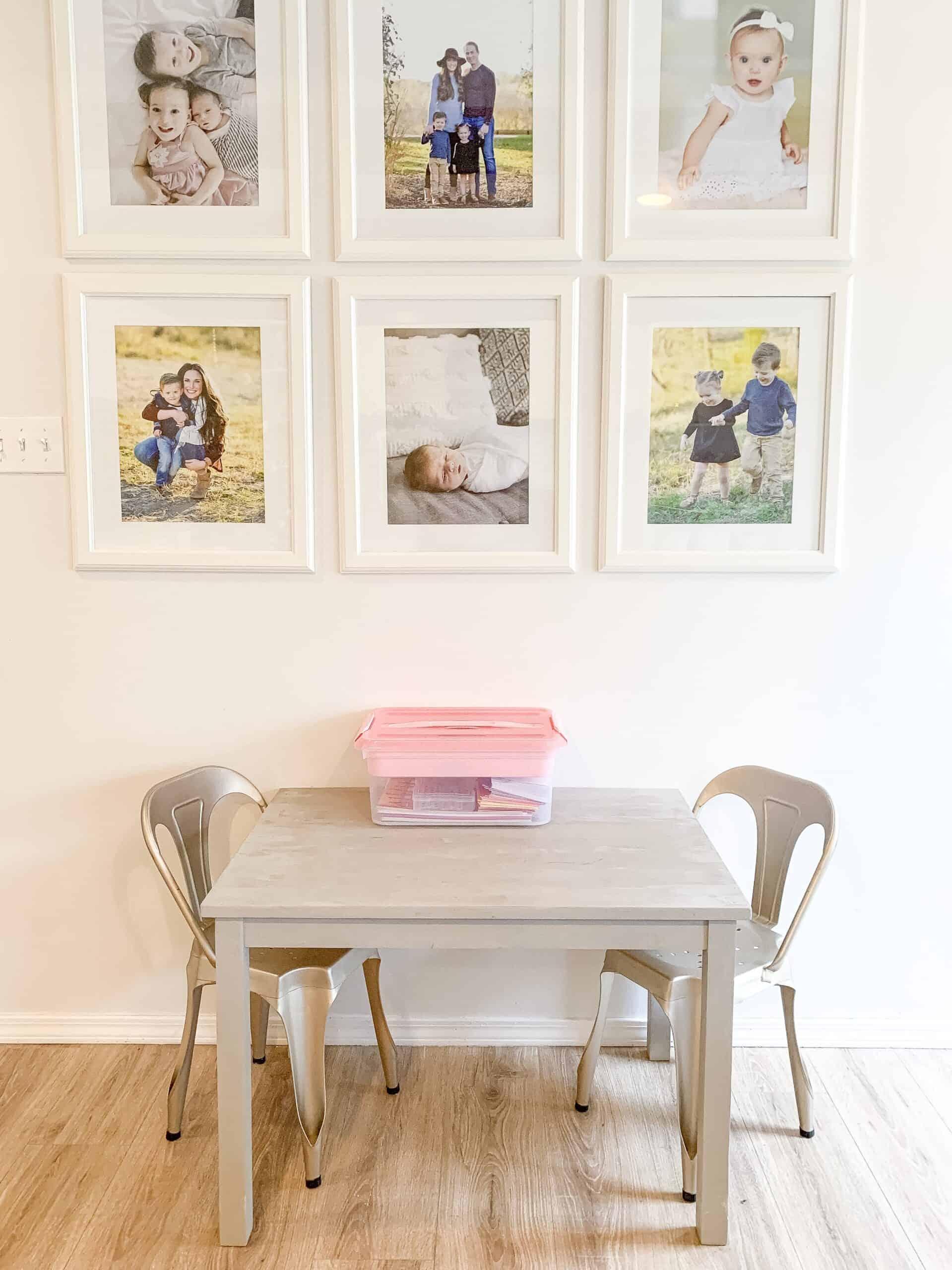 homeschool organization  space