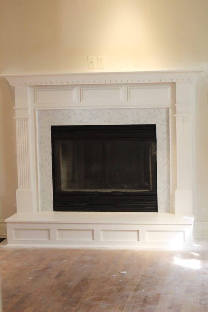 fully updated budget fireplace update