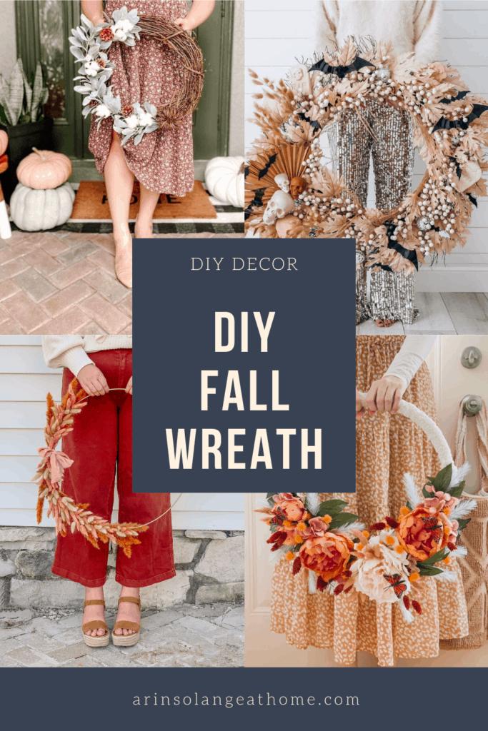 diy fall wreath options