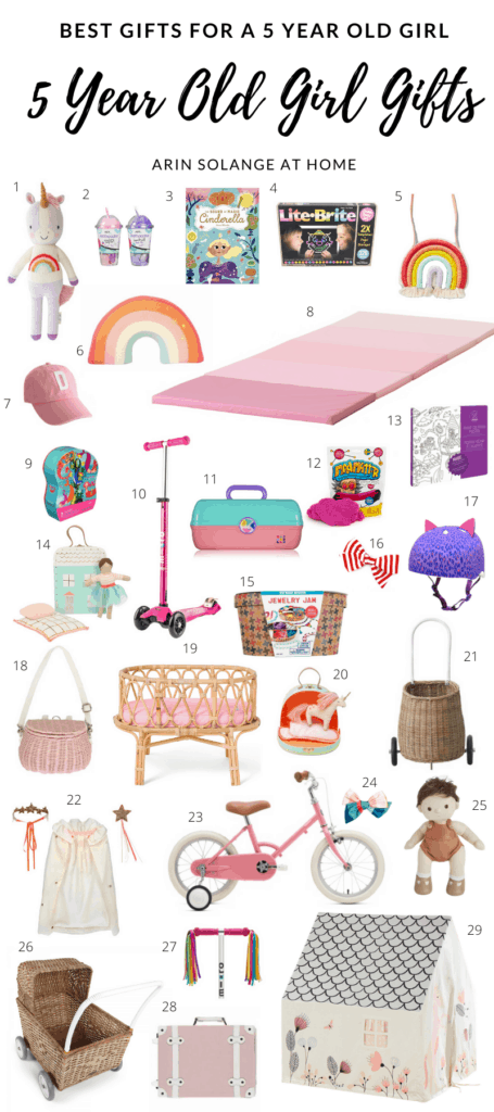 best gifts for 5 year old girl