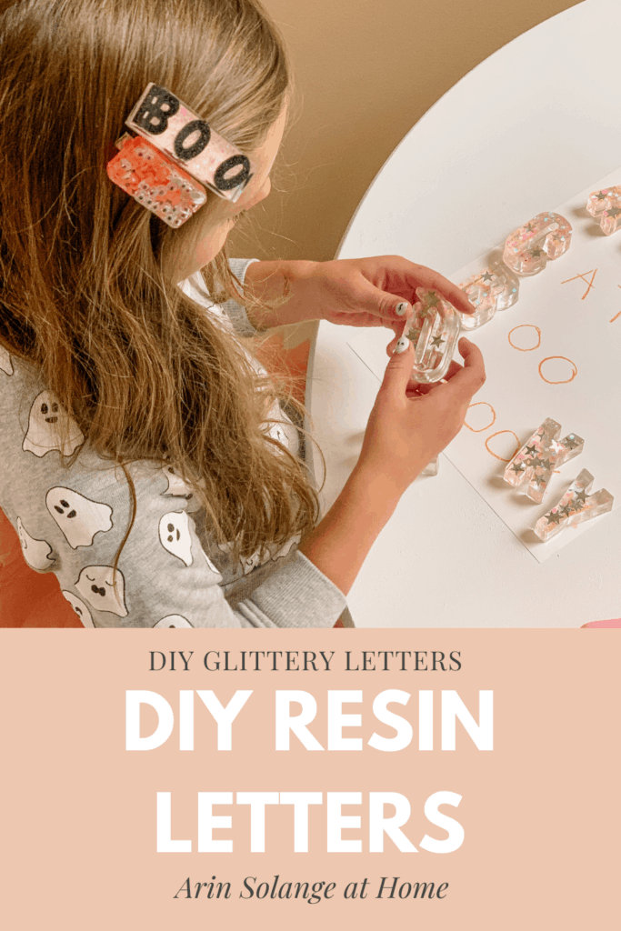 DIY Resin Letters