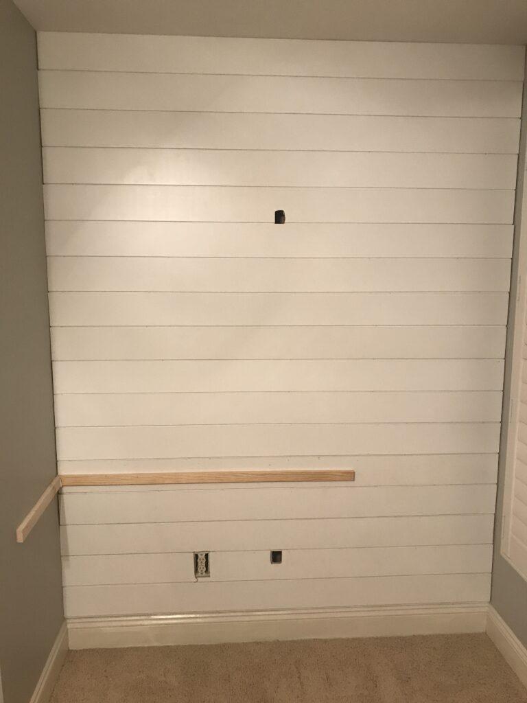 frame for built in desk