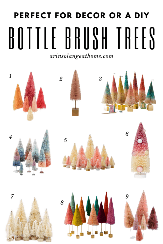 round up of bottle brush trees