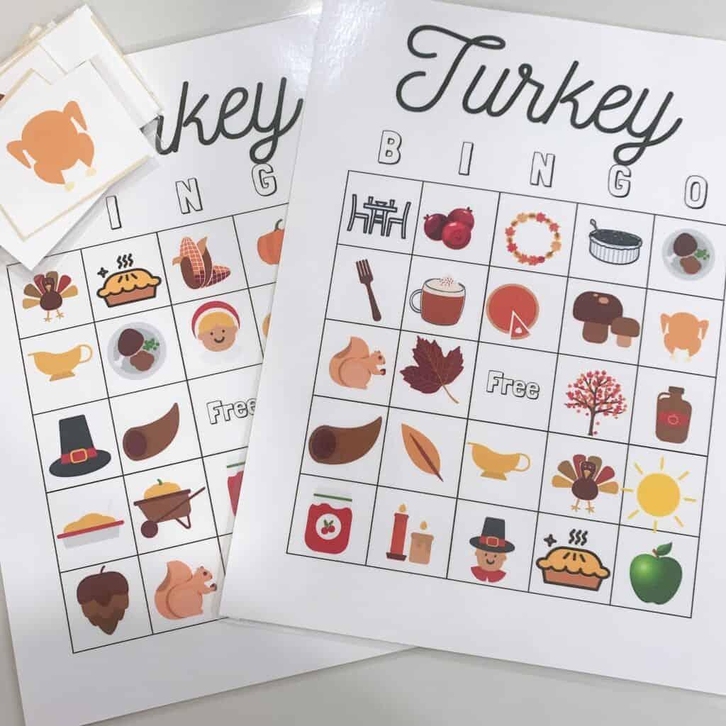 Free Turkey Bingo