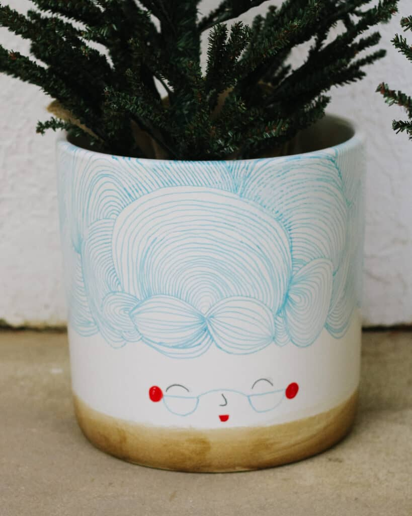 Mrs. Claus Planter
