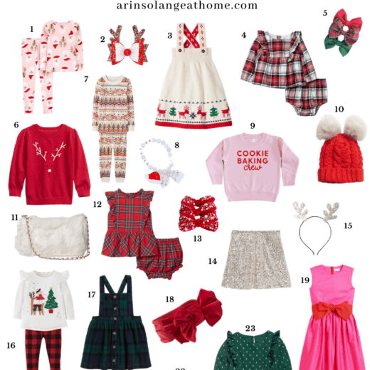 Girls Christmas Outfits