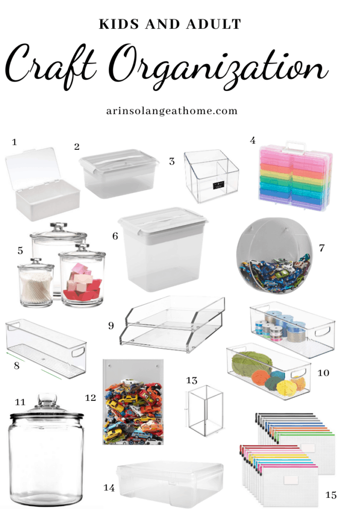 craft room organization favorites