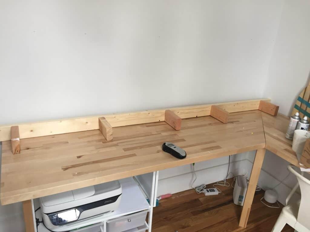 support bracket for floating shelves