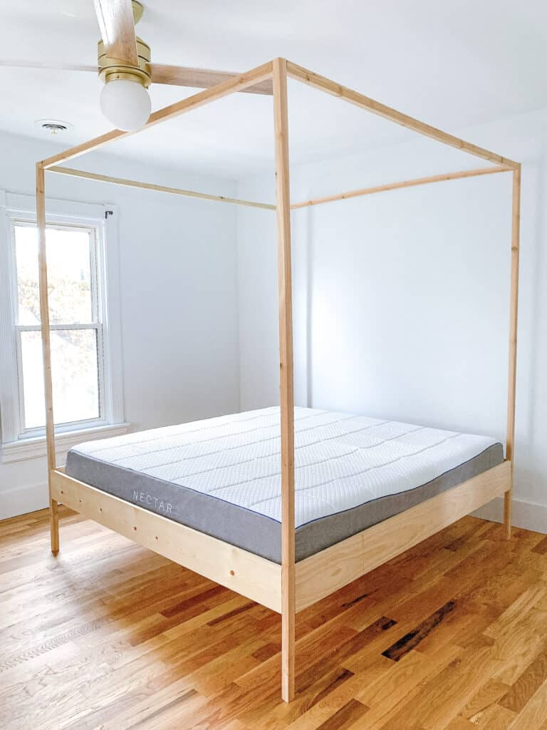 diy king sized bed