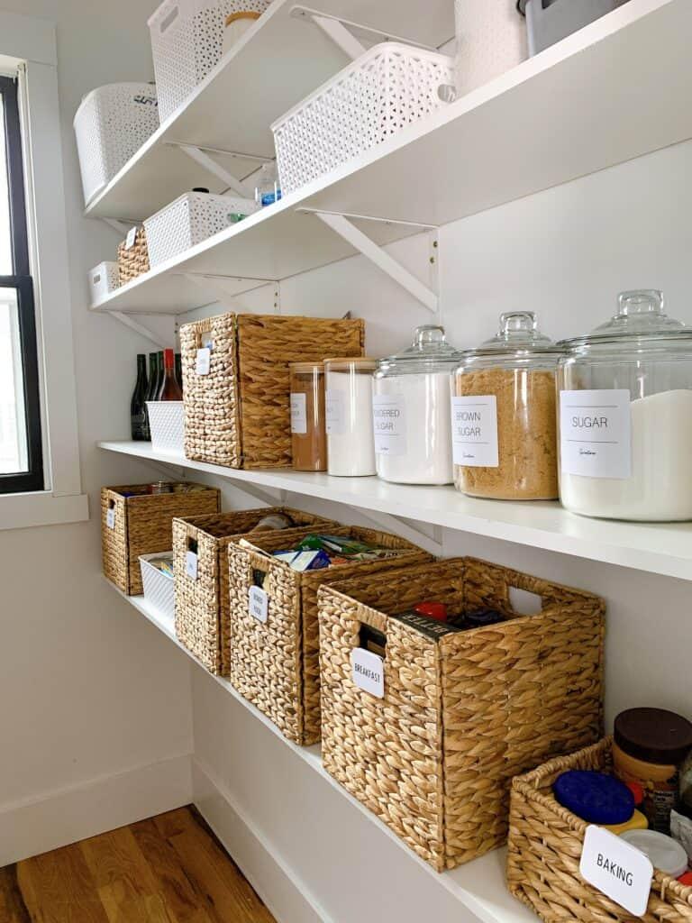 super organized pantry