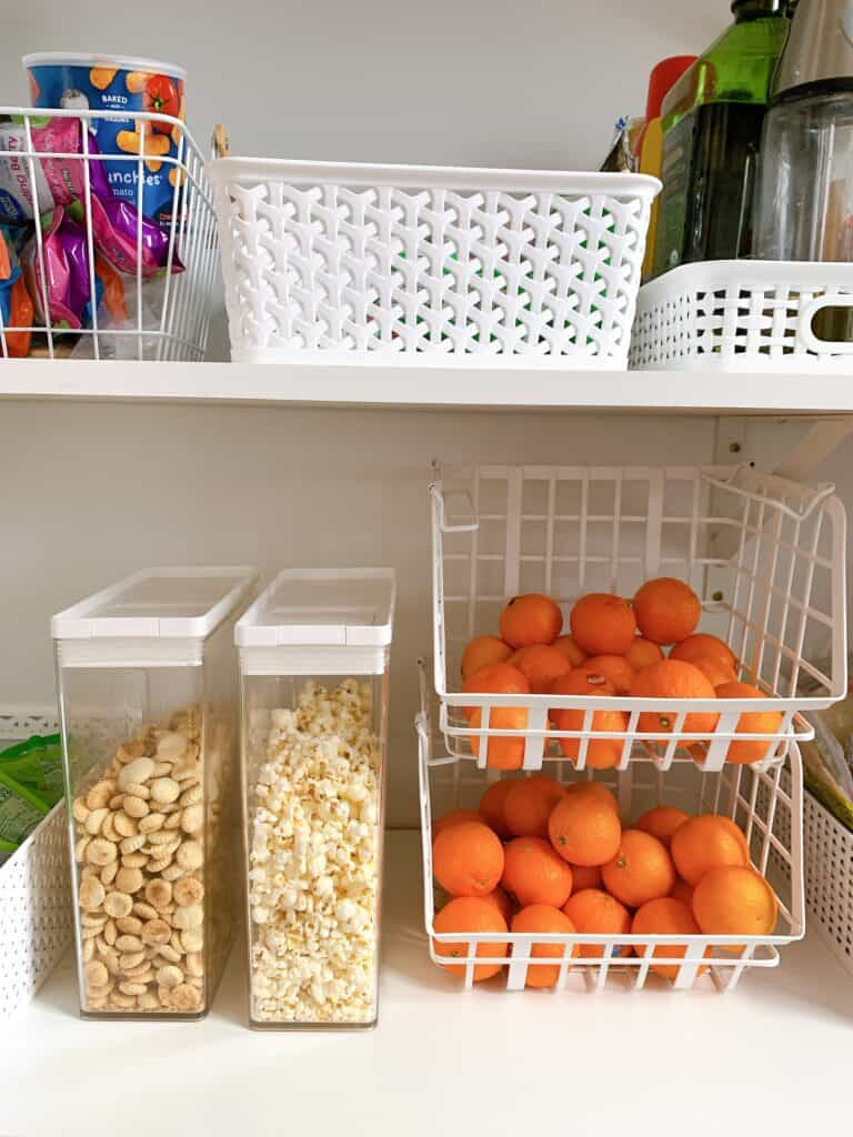 pantry that is organized