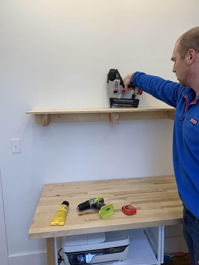 building shelves