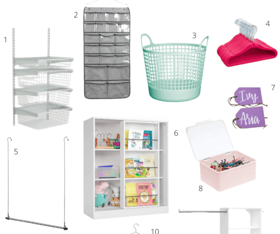 kids closet organization favorites