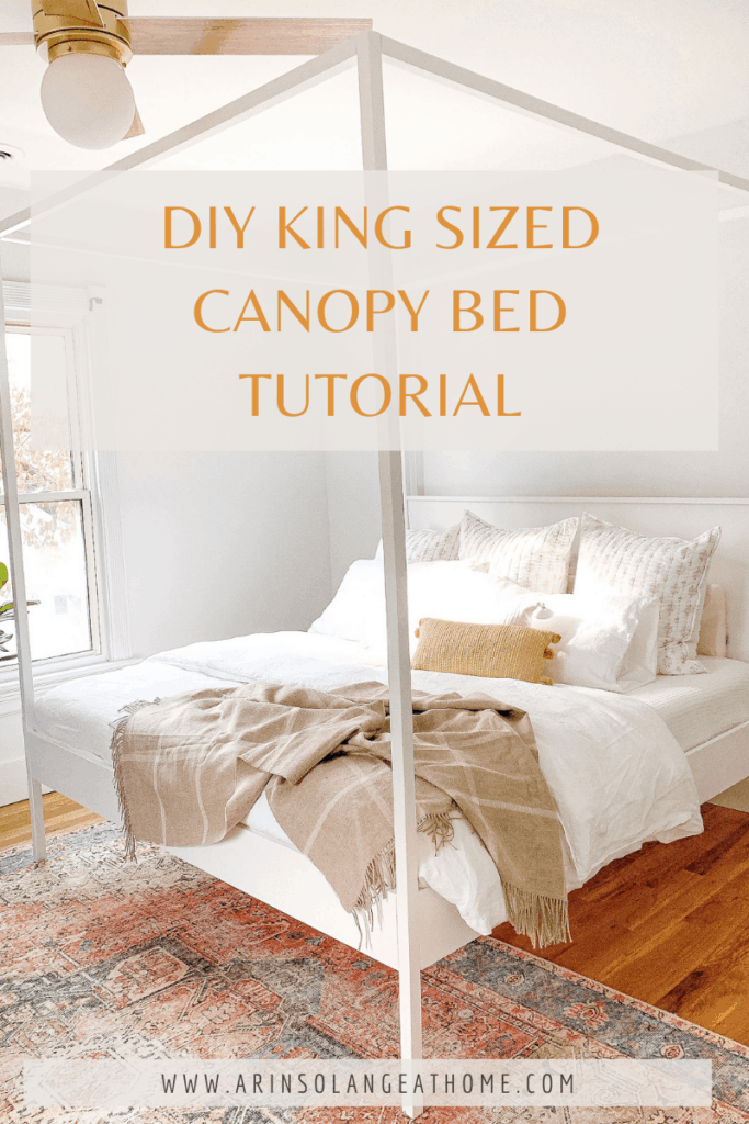 Build your own canopy bed
