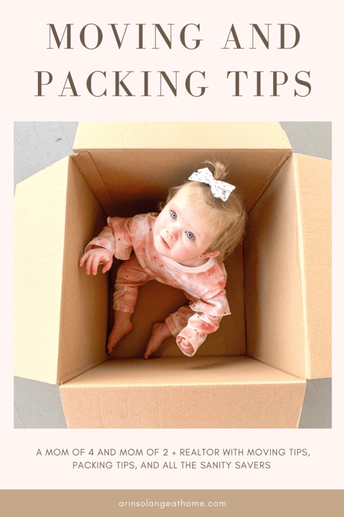 moving and packing tips for families