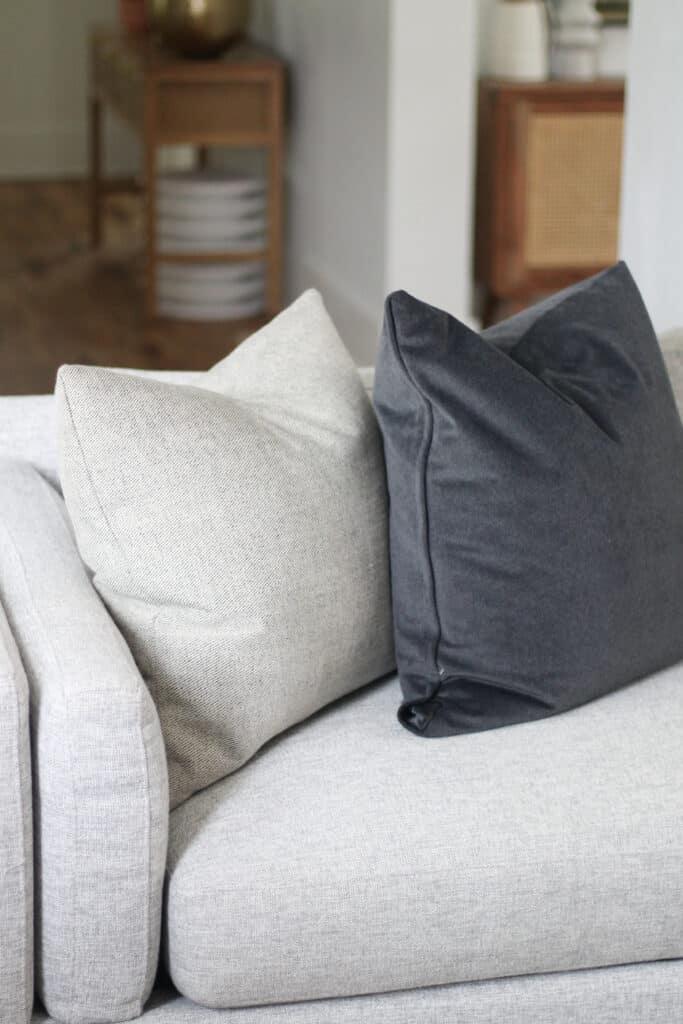 Jonathan Louis furniture and throw pillows