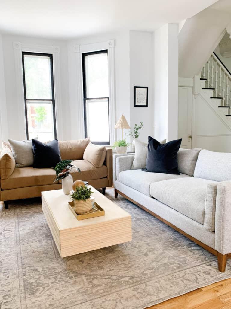 mismatched Jonathan Louis Furniture