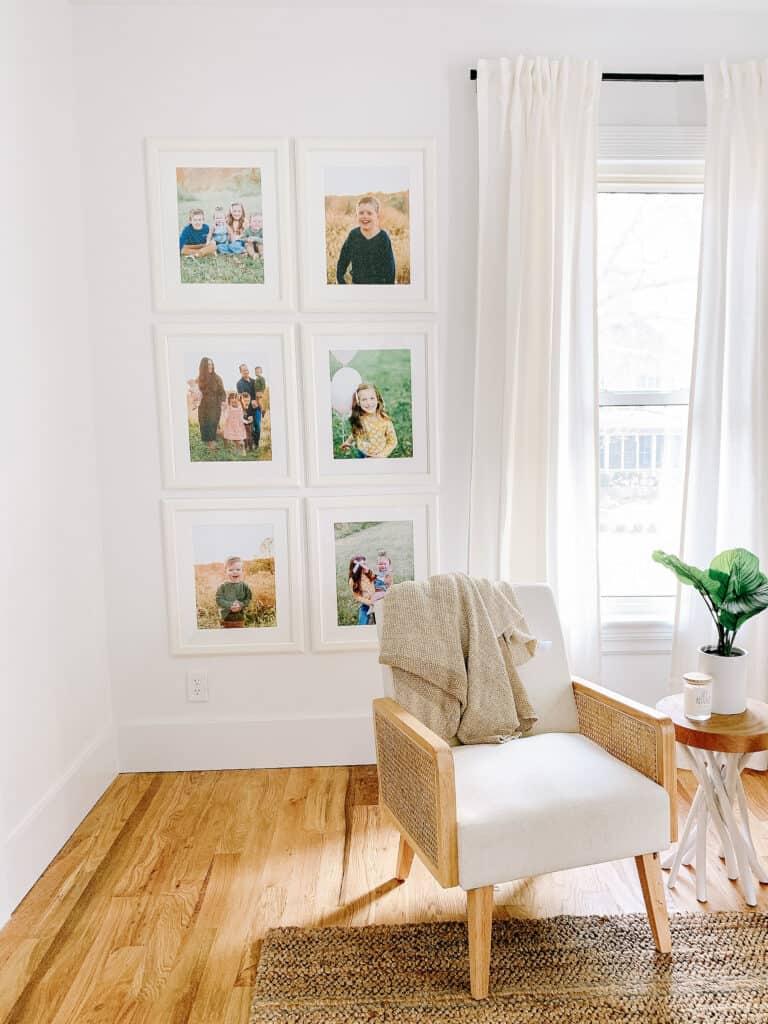 corner of master bedroom