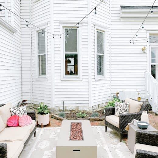 historic home back porch