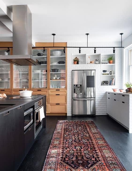 mixed texture kitchen