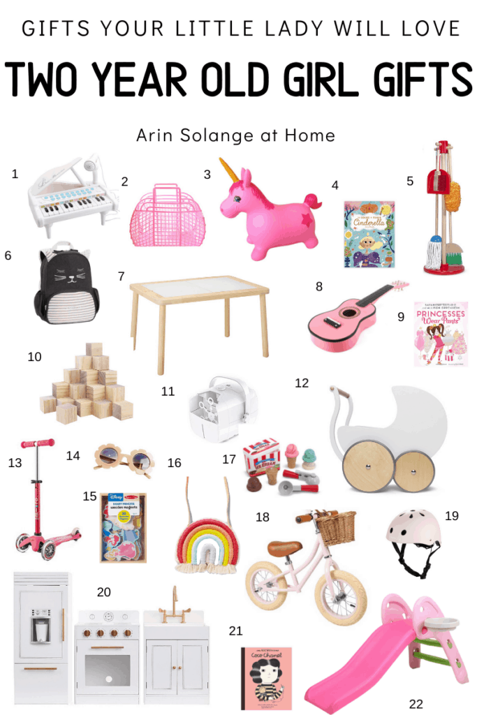 gifts for 2 year old girl birthday