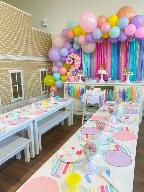 2nd birthday party for girls