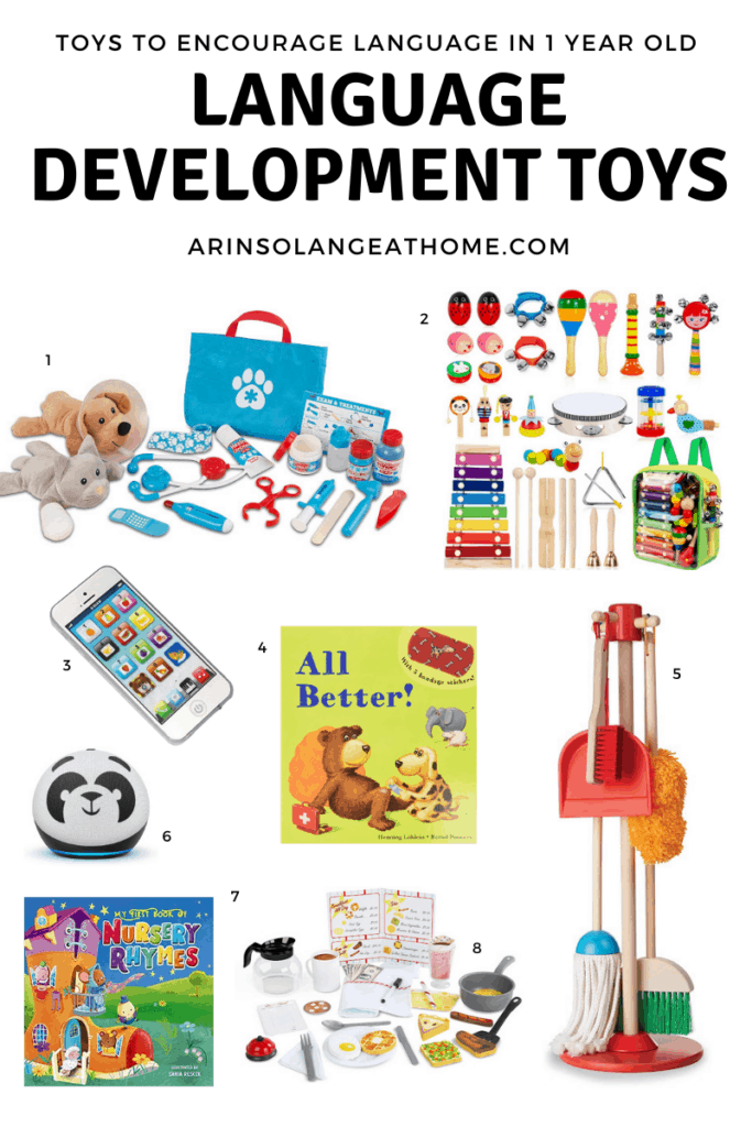 Language Development Activities for 14 Month Old