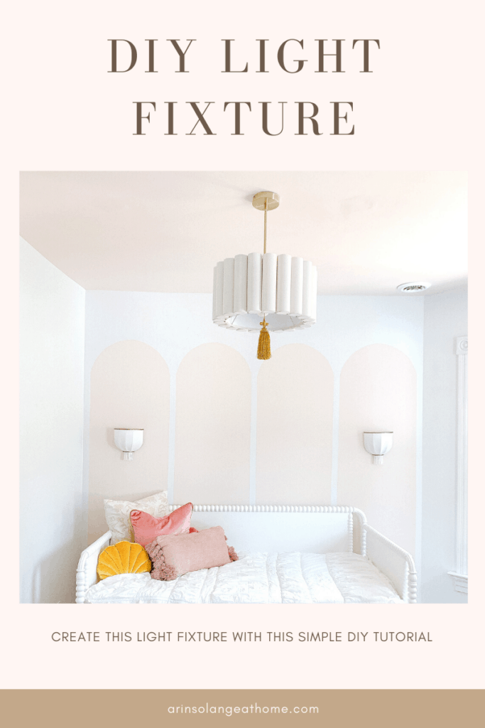 DIY Light Fixture Tutorial