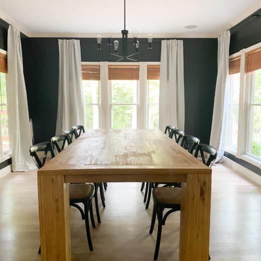 Large DIY dining table