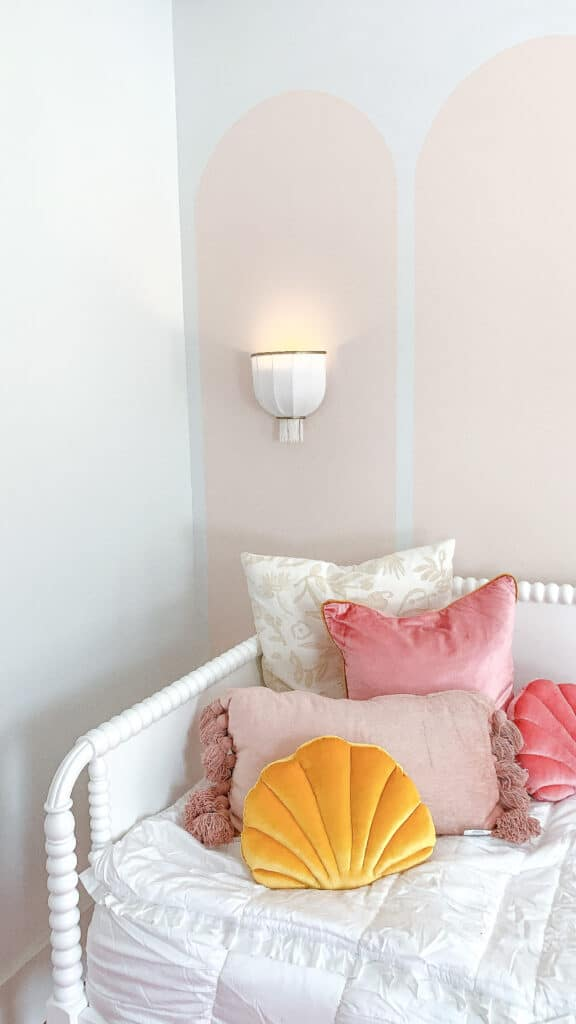 wall sconces on kids room walls