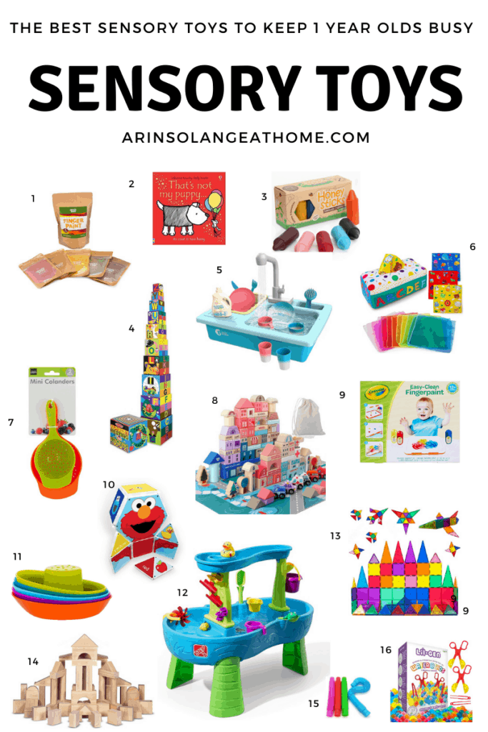 Sensory Activities for 14 Month old