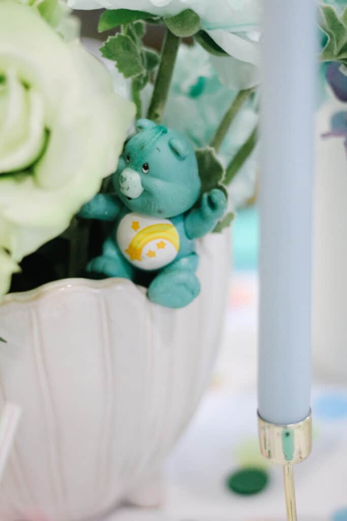 Care Bears by Flowers